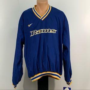 Vintage Reebok L.A. Rams Pullover